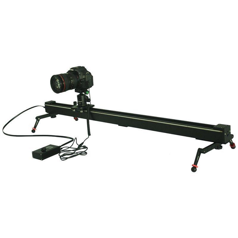 Portable professional electric control 1m 100cm westage ii for Stepper motor camera slider