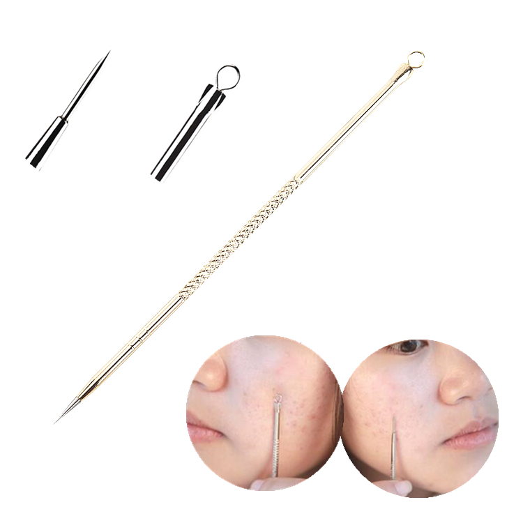 1pcs Stainless Steel Acne Removal Needle Headband Blackhead Tool Needles Pimple Kit Makeup Squeeze Acne Pustule Tools