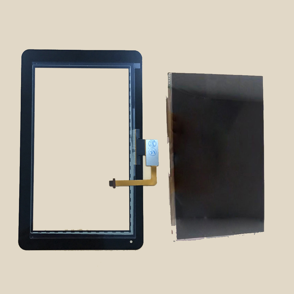 For Huawei Mediapad S7 Lite S7-931U / S7-931W Black Touch Screen Sensor Digitizer Glass + LCD Display Screen Panel Monitor free dhl for for zte blade s7 lcd touch screen new arrive display digitizer glass panel replacement for zte blade s7