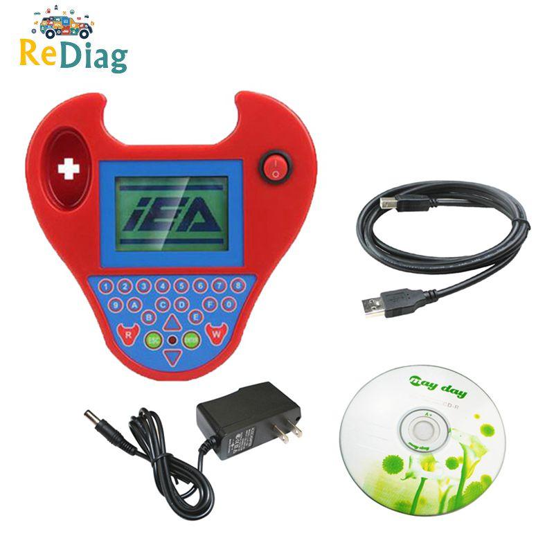 Mini Red Zed Bull V508 Auto Key Transponder Programmer Pocket Type No Tokens No Login Smart Zed Bull Key Copy Chip Auto Tool