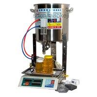 Цифровой Управление вязкой жидкости для заправки машины Коммерческая 304 нержавеющая сталь Сок мед розлива количественный 110 В/220 В