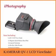 """Kamerar QV-1 ЖК-дисплей видоискатель для 3 """"-3.2"""" Canon Nikon Sony Olympus Зеркальные фотокамеры"""