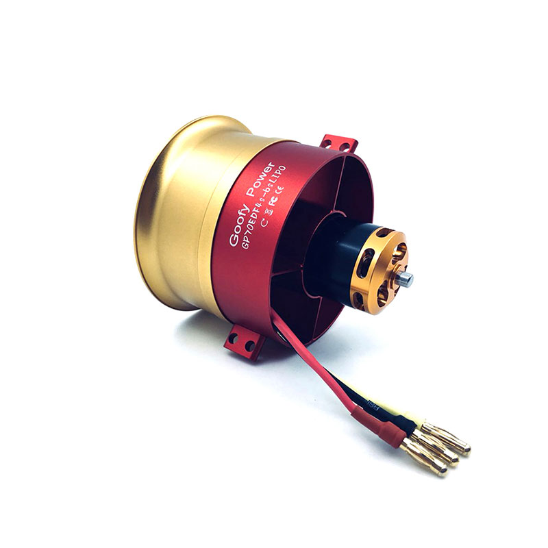 QX-MOTOR NEW 70mm EDF 12blades 6S  for 70mm metal EDF airplane Ducted Fan EDF With Motor and 100A esc For RC Airplane 5 blade 64mm outrunner ducted fan 4300kv brushless motor 30a esc for lipo rc jet edf plane airplane fan
