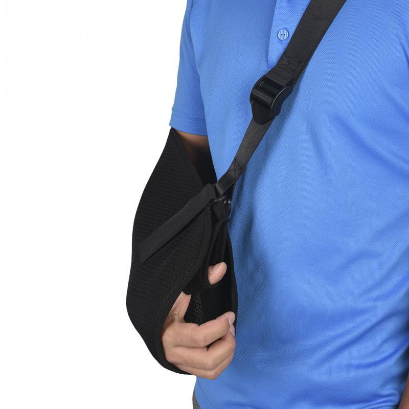 Adjustable Breathable Arm Support Shoulder Belt Wrist Brace Forearm Arm Sling Shoulder Dislocated Arm Fractures Brace Sling
