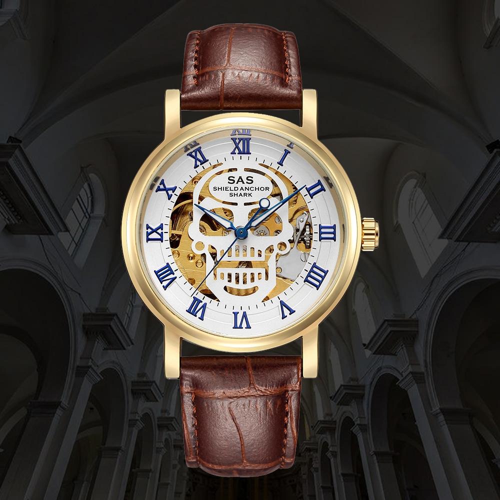 Permalink to Watch Men Skeleton Automatic Mechanical Watch Gold Skeleton Man's Watch Mens Watches Top Brand Luxury Clock Horloges Mannen saat