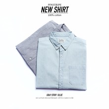 SIMWOOD חדש 2020 גברים חולצות מותג ארוך שרוול אנכי פסים כותנה חולצה Fit אופנה חולצה לזכר camisa masculina 180308