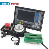 Upgrade 4 Achse PLC Controller DDCSV3.1 500KHz offline & Anhänger Handrad & Notfall Stop für CNC Router Gravur Fräsen maschine
