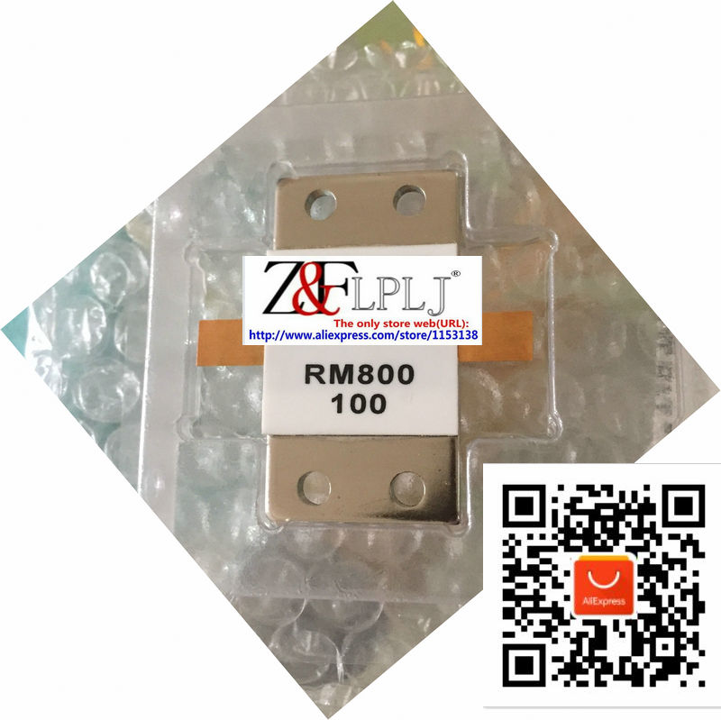 Microstrip resistor  800 watts 100 Ohms  DC 0.5 GHZ  / 800W 100R RM800 100 800Watts dummy load resistor New Original 1PCS/LOT-in Integrated Circuits from Electronic Components & Supplies