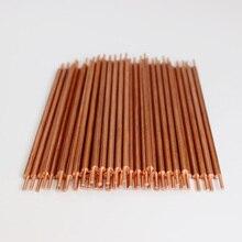 5 шт. 3x100 мм точечный диаметр 1,4 мм точечные сварочные стержни иглы алюминий медь сварочные стержни электроды для точечной сварки