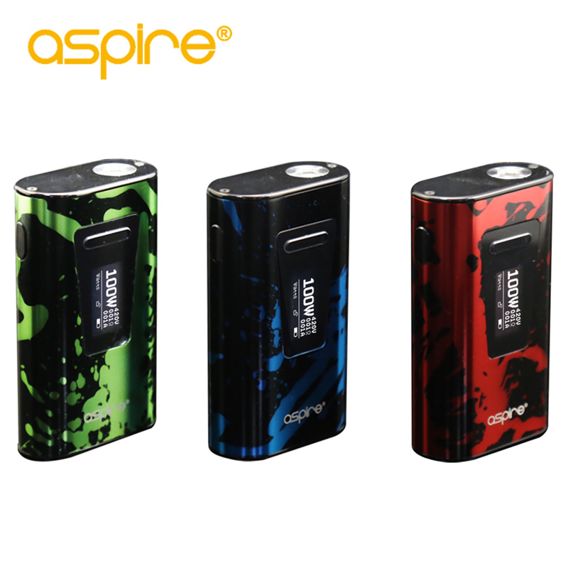 Aspire Typhon 100W Box Mod Built-in 5000mAh Battery Fit for Aspire Revvo Tank E Cigarette Vaporizer Box Mod