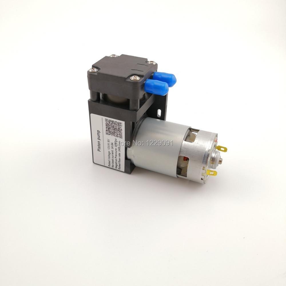 цена на 45W 85kpa electric micro 12v air vacuum pump dc negative pressure pump