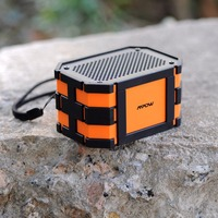 Mpow 5W Armor Waterproof Portable Bluetooth V4 0 Speaker With Emergency Power Surpply For Outdoor Shower