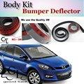 Para Mazda CX7 CX-7 CX 7 2012 ~ 2015 Bumper Lip/Frente Spoiler Carro Defletor Adesivo À Prova De Scratch/Body Kit/Strip saia