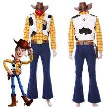 c1842b89f2a6 Película Cosplay juguete historia 4 Woody Cosplay disfraces hombres adultos  Carnaval de Halloween hecho a medida
