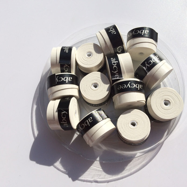 15pecs Freee shipping (White)Abcyee superior sticky Badminton Grip/tennis overgrips/tennis product