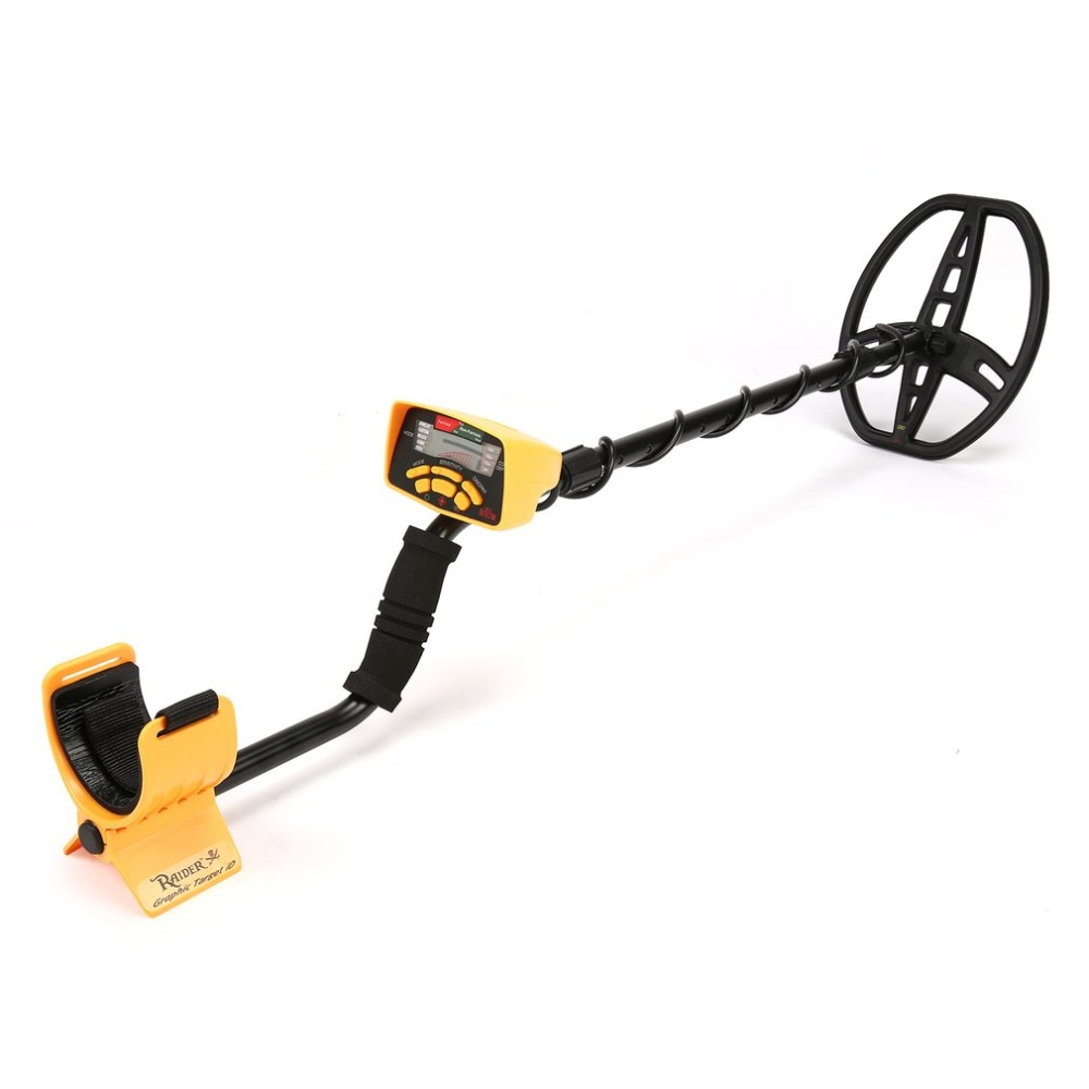 Underground Metal Detector Dropship MD6350 Professional Handheld Treasure Hunter Gold Digger Finder With Headphone LCD Display