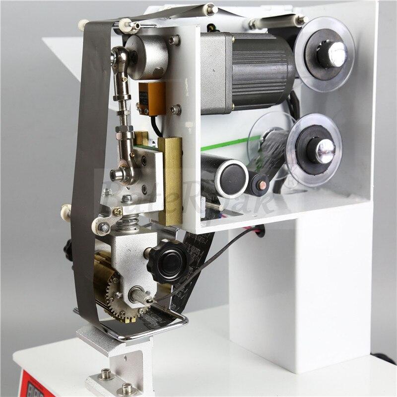 ZY-RM2-D BateRpak Elektrische Dialling code drucker, Zifferblatt codierung maschine, Automatische Stanzen Maschine, leder LOGO Rillen maschine