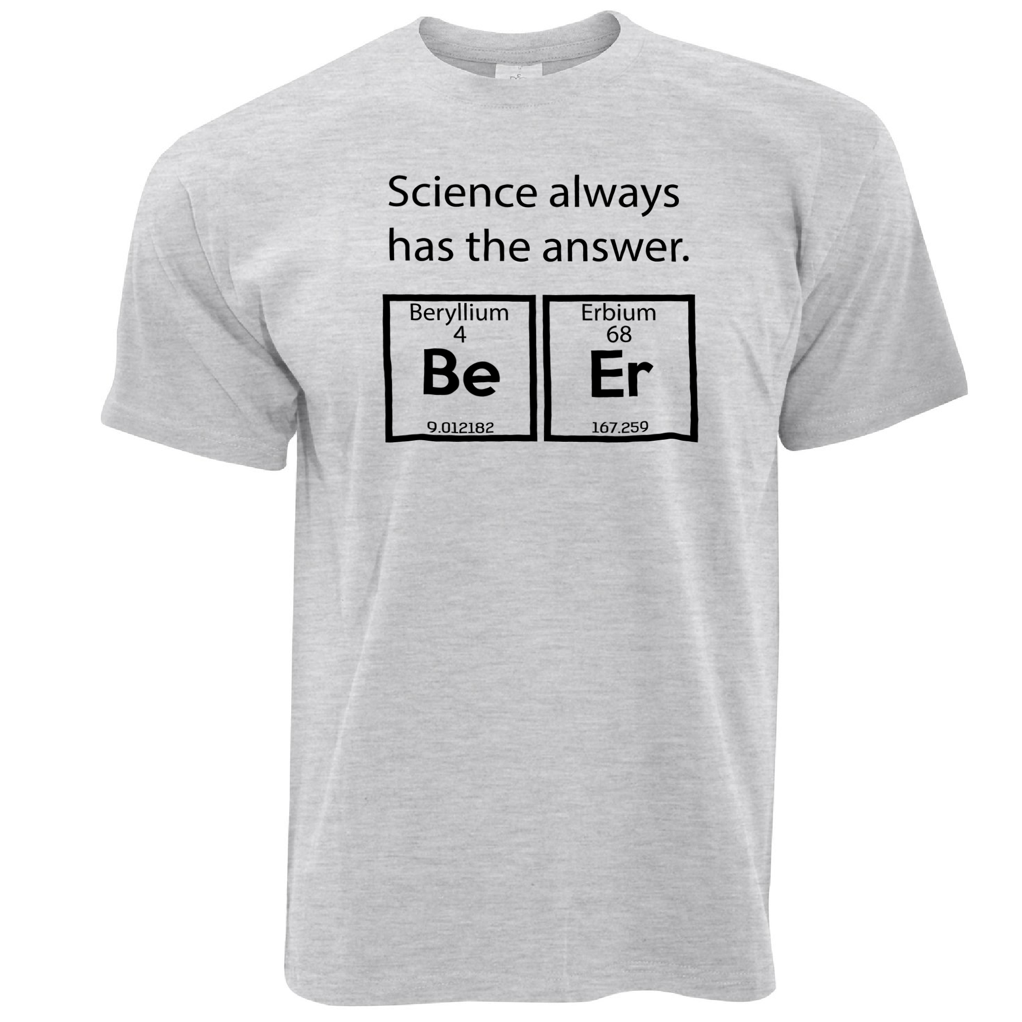 Normal cotton t shirts mens beryllium erbium beer science answer normal cotton t shirts mens beryllium erbium beer science answer periodic table alcohol short top o neck t shirt in t shirts from mens clothing gamestrikefo Image collections