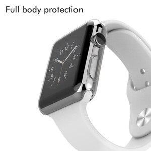 Image 4 - 100 adet Şeffaf Tam Koruma Series3 Kılıfları Temizle Kristal Silikon Kapak Apple için İzle Serisi 3 2 Kılıfı fundas Coque 42mm