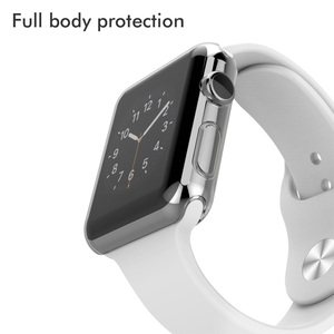 Image 4 - Fundas transparentes de silicona para Apple Watch Series 3, 2, 42mm, 100 Uds.
