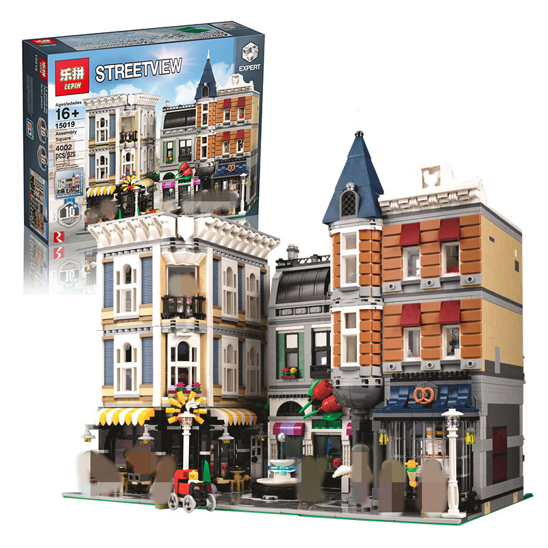 Lepin 15019 4002pcs MOC City Architectures