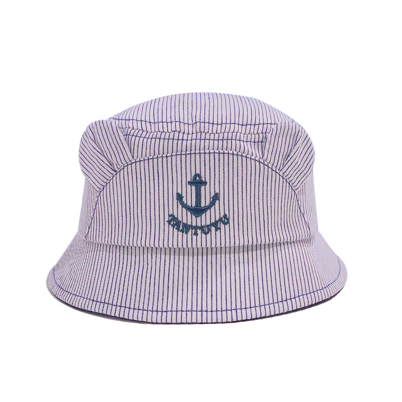 0 to 1 years old han edition of anchor baby infant fisherman hat sailor basin hat flat shading children 39 s hat baby cap XA 262 in Hats amp Caps from Mother amp Kids
