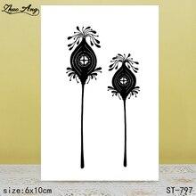 ZhuoAng ST-797 transparent silicone stamp / DIY scrapbook photo album decorative seal