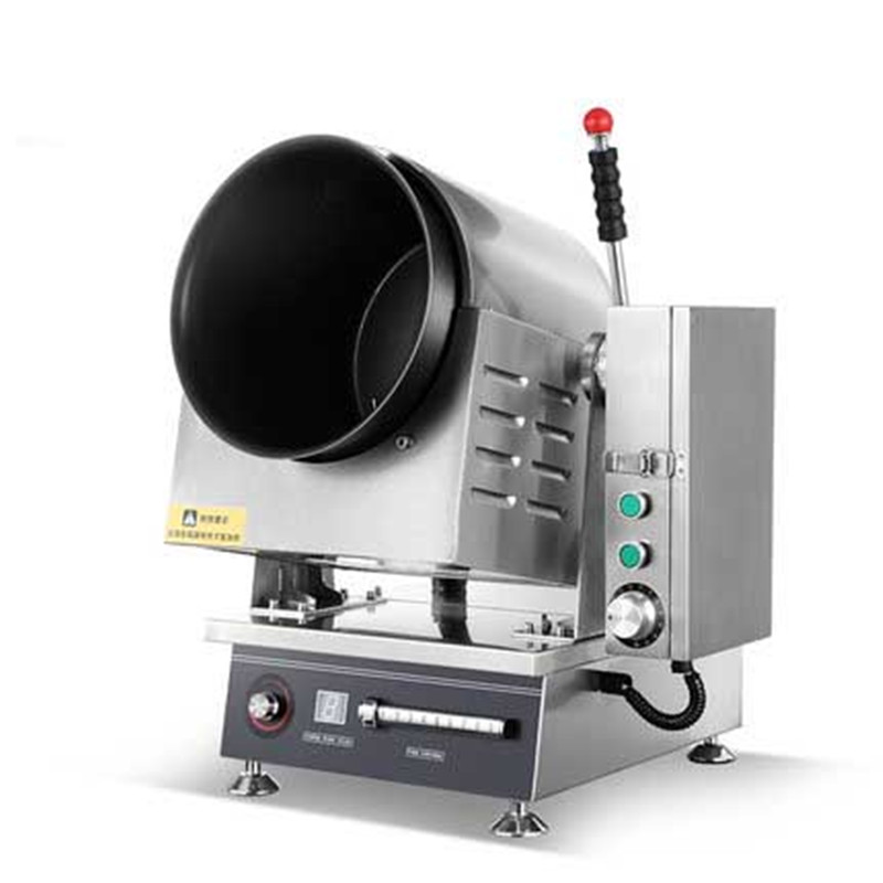 Large Commercial Cooking Machine Automatic Intelligent Cooking Robot Fried Rice Machine Electromagnetic Drum Cooking Pot