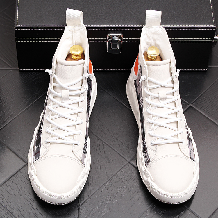 Stephoes Luxury Brand Men Casual Ankle Boots Spring Autumn High Top Men's Vulcanize Comfortable Sneakers Walking Leisure Shoes-in Men's Casual Shoes from Shoes on Aliexpress.com | Alibaba Group 51