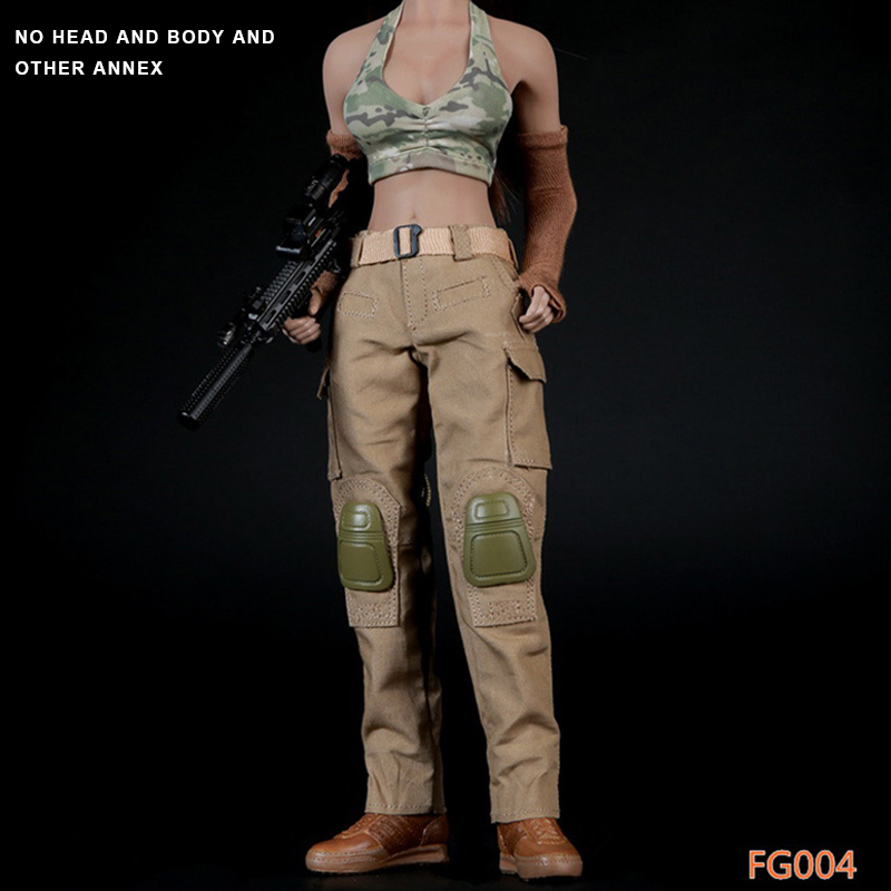 Fire Girl Toys 1/6 Scale Female Soldier Spnier Clothes Tactical Shooter Set FG004 For 12 Inch Phicen Jiaodol Action Figure стоимость