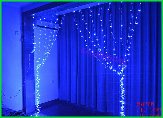 led curtain light 2mx2m red yellow green blue white rgb. Black Bedroom Furniture Sets. Home Design Ideas