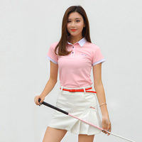 Comprehensive Training T Shirt Golf Ball Clothing Ladies Short Sleeved Summer Sports Clothes Golf Trainning T Shirts Woman