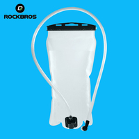 ROCKBROS Bicycle Water Bottle Portable Mountain Road Bike Water Bag Eco Friendly Cycling Running Outdoor Sports