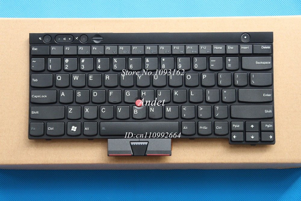 98 New for Lenovo ThinkPad T430 T430S X230 X230I X230T W530 T530 L430 L530 Backlit US English Keyboard 04X1353 04X1240 new laptop keyboard for thinkpad l430 w530 t430i t530 t430 t430s x230i x230 l530 x230 black us with frame