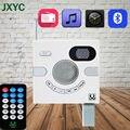 Venda quente portátil bluetooth speaker parede projeto interruptor aux estéreo com fm tf cartão de multi-funcional usb exibição de tempo mp3 player