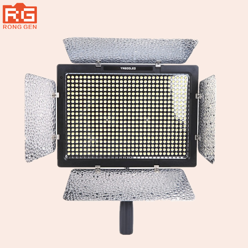 YONGNUO YN600L YN600 Camera Lights LED Video Light 5500K Color Temperature for Canon Nikon Camcorder DSLR photographic light jjc 3 in 1 stacking grid light modifier system for canon yongnuo black