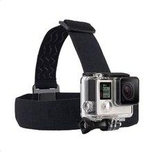 Голову ремешок для GoPro Hero 5 крепление аксессуары экшн-камеры пояса повязка монопод для Go Pro для Xiaomi Yi SJCAM SJ4000 SJ5000