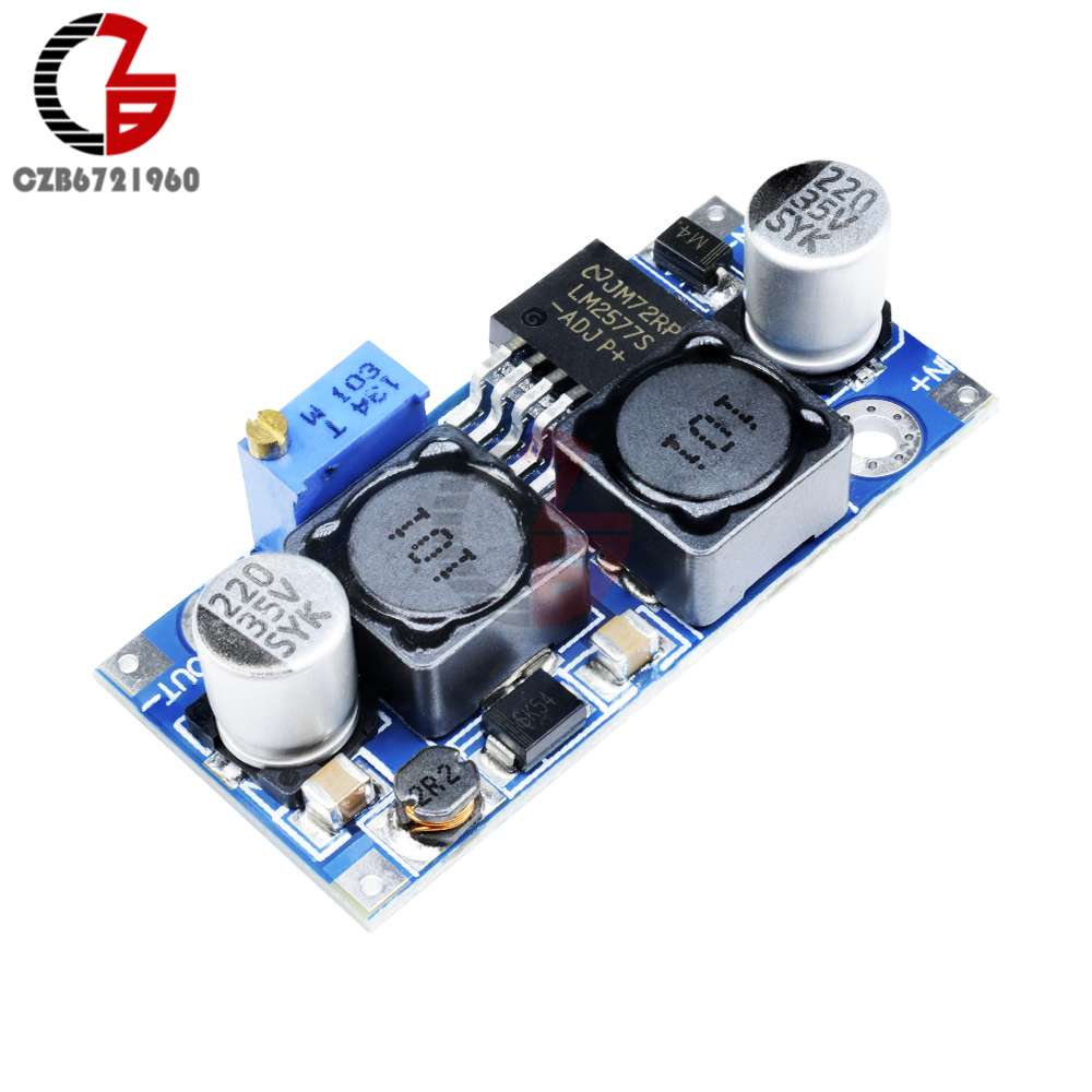 Integrated Circuits Temperate High Frequency Max 8a Dc-dc Step Up Isolation Booster Power Supply Converter Module Boost Board Solar Battery Charger Charging Punctual Timing