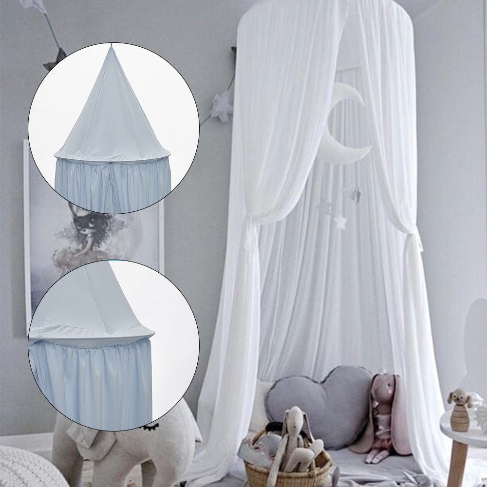 Tent For Kids Princess Tipi Teepee Bed Canopy Baby Children's Room Decoration Cotton Breathable Mosquito Net Child's Tent Toys