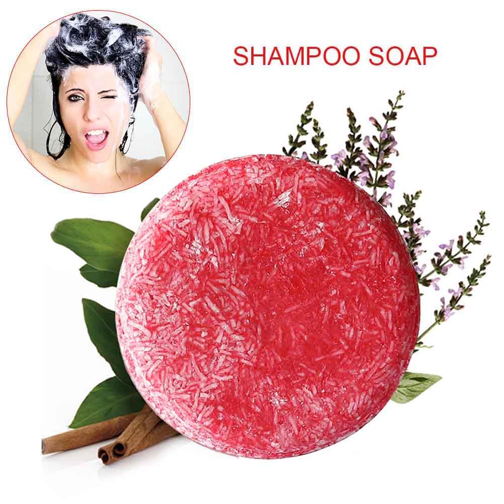 Shampoo Soap Hair-Care Anti-Dandruff Oil-Control Handmade 88 60g Fragrance Nourishing