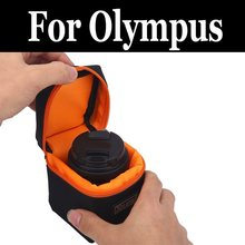 Camera lens bag Soft Waterproof DSLR Cover Case S For olympus Stylus Tough 3000 6020 8010 TG-850 iHS TG-860 TG-870 Stylus XZ-10 cheap 201820096 Oxford Fabric Lens Cases Drawstring Bags LACHOUFFE piece 0 06kg (0 13lb ) 15cm x 15cm x 15cm (5 91in x 5 91in x 5 91in)
