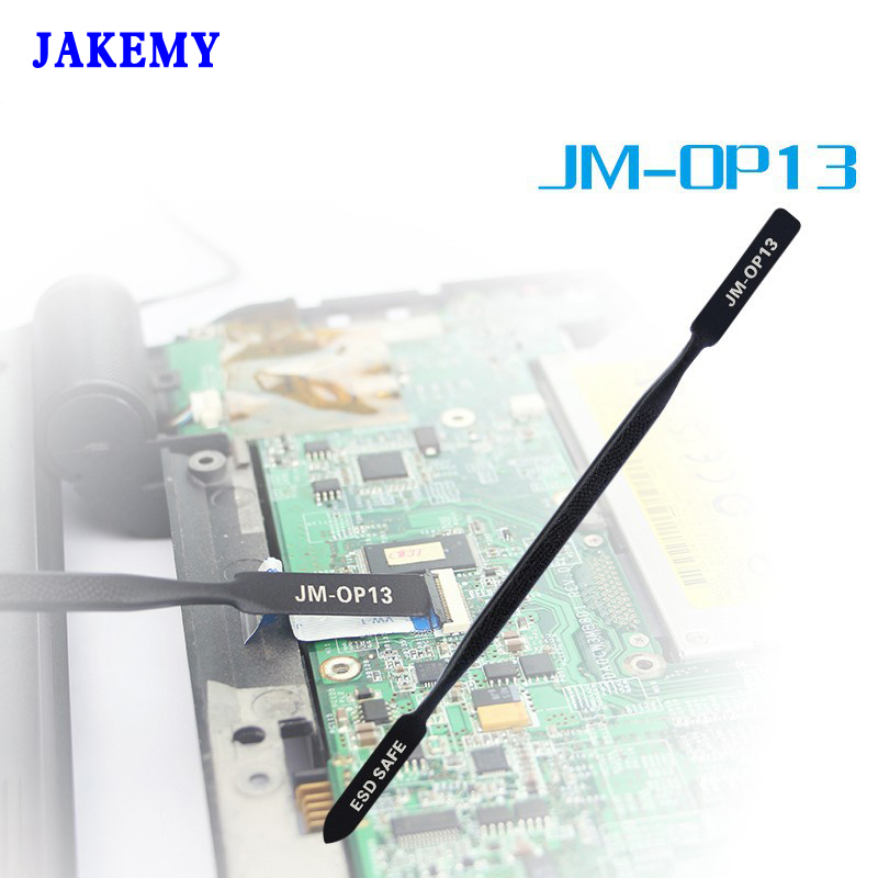 Jakemy Anti-Static Metal Crowbar Pry Spudger Opening Repair Tools For Iphone iPad Samsung Laptop Mobile Phone Tools Outillage