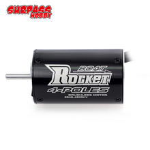 SURPASSHOBBY Rocket 2948 3450KV 4800KV 4 Poles Brushless Waterproof Motor for Traxxas Blast Feilun FT011 600 800mm RC Boat Car