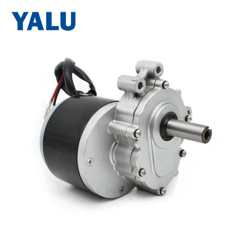 YALU Super Quality MY1016ZL 24V 250W Robot Electric Wheel Chair Brushed Gear Wheelchair DC Motor yalu