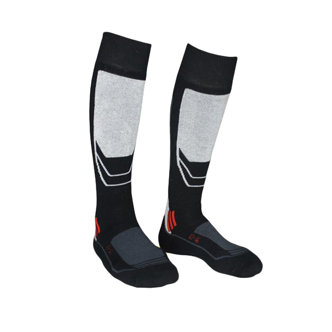Warm Winter Men Thermal Ski Socks Thick Cotton Sports Snowboard Cycling Skiing Soccer Thermosocks Leg Warmers