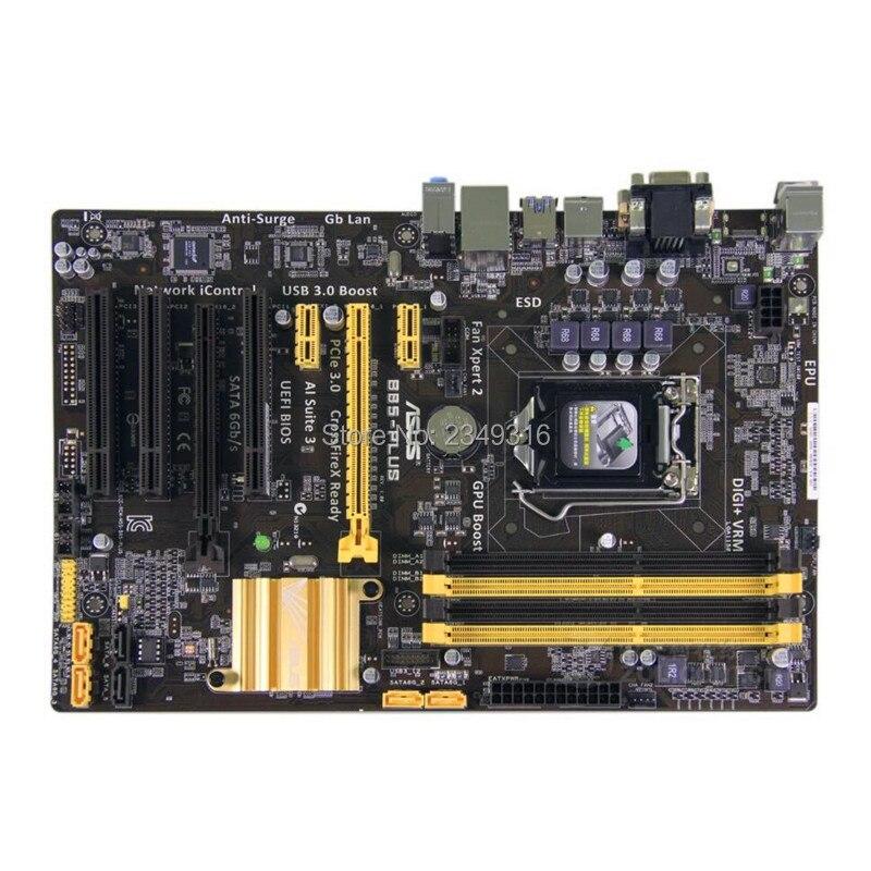 For ASUS B85-PLUS Original Motherboard Socket LGA 1150 DDR3 B85 Desktop Motherboard