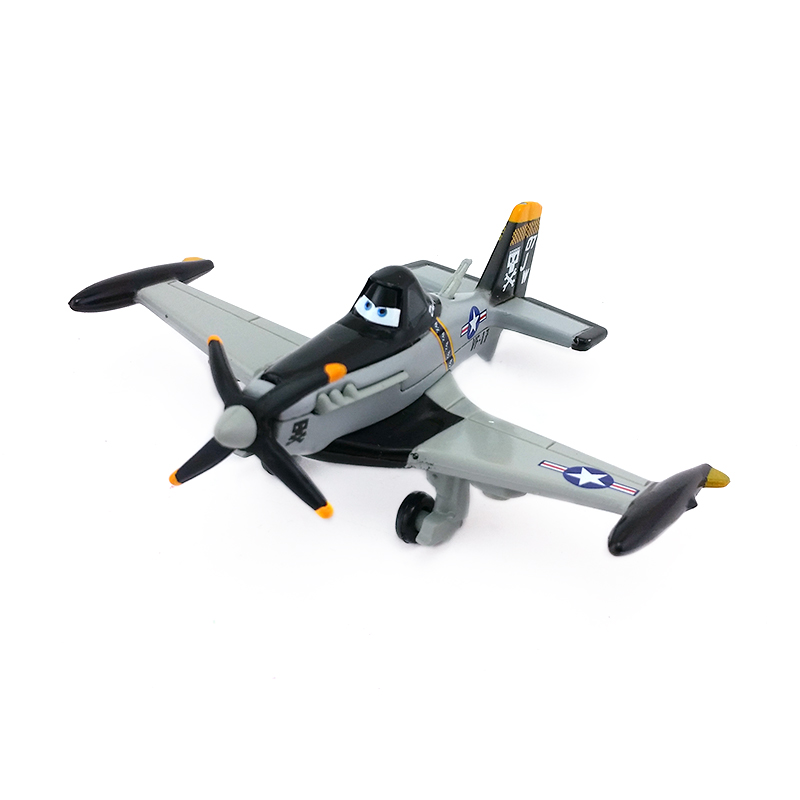 Disney Pixar Planes No.7 Jolly Wrenches Dusty Crophopper Metal Diecast Toy Plane 1:55 Loose New In Stock &