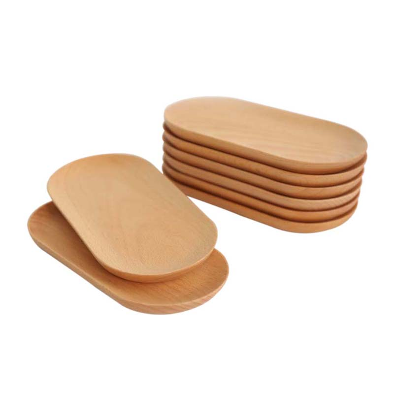 Wooden Dining Plates & Round Wood Trays Canvas Home Stores