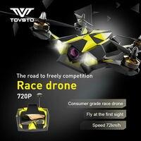 TOVSTO Сокол 250 RTF 250 мм 5,8 Г 6CH 720 P HD Камера FPV в режиме реального времени Pro 72 км/ч RC гоночный Drone Quadcopter самолета