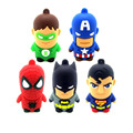 Usb 3.0 pen drive dos desenhos animados fantasia super hero homem usb Spiderman Flash Drives Polegar Memory Stick Pendrive de 32 GB Granel Barato presente